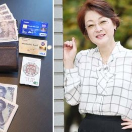 韓国通の女優・黒田福美さん 財布は日韓両国で使い分け