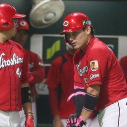 日本シリーズ16打数2安打 広島・丸の不振を見るナインの目