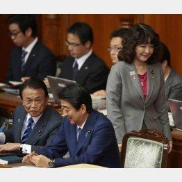 デタラメ主張で突っ張るネトウヨ政権(C)日刊ゲンダイ