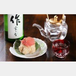 合う酒=日本酒(C)日刊ゲンダイ