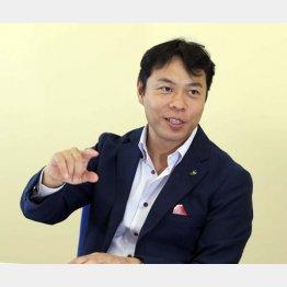 秋元巳智雄社長(C)日刊ゲンダイ