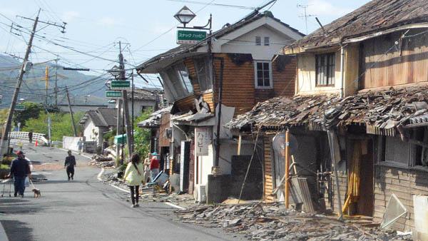 2016年の熊本地震では甚大な被害が(C)日刊ゲンダイ