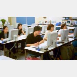 コールセンターは人手不足(写真はイメージ)/(C)日刊ゲンダイ