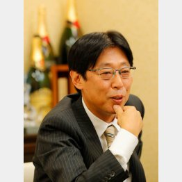 ハブの太田剛社長(C)日刊ゲンダイ