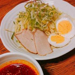 広島「きむらや」カープの赤で染まるつけ麺が最高!