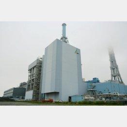 福島県にある石炭ガス化複合発電(C)共同通信社