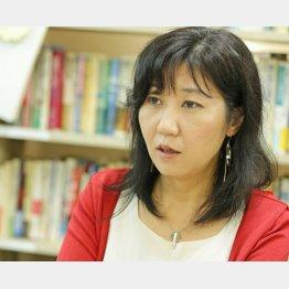 PARC共同代表の内田聖子さん(C)日刊ゲンダイ
