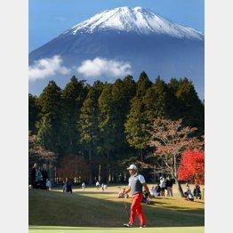 初日は富士山もよく見えた(C)日刊ゲンダイ