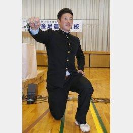 「こうせい」の名前のきっかけは井上康生(C)日刊ゲンダイ