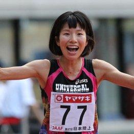 新谷仁美(13年、日本陸上競技選手権女子1万メートルで優勝当時)