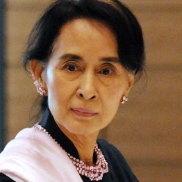 ミャンマーのアウン・サン・スー・チー国家顧問兼外相