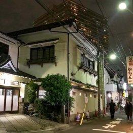 元料亭とおぼしき風情ある建物