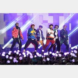BTSは紅白落選(C)MEGA/ニューズコム/共同通信イメージズ