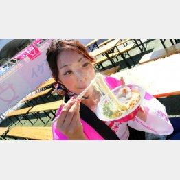 「ラーメンろたす」の濃厚とろ味噌ラーメン(800円)/(提供写真)