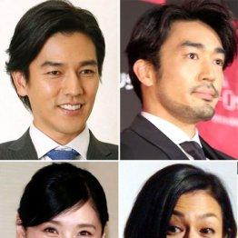 要潤に大谷亮平…掛け持ちではなく二股三股俳優と呼びたい