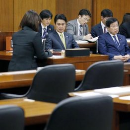 野党欠席で審議はストップ(16日の衆院法務委)