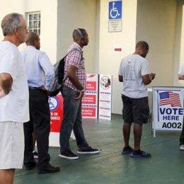 米中間選挙、6日のフロリダ州投票風景