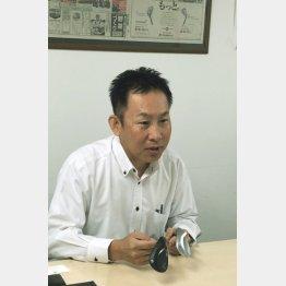 キャスコ企画部・藤原雅彦部長(C)日刊ゲンダイ