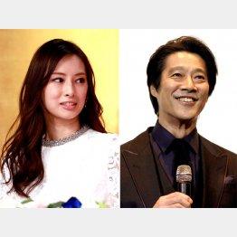 北川景子(左)と堤真一は兵庫生まれ(C)日刊ゲンダイ