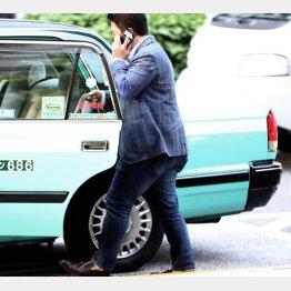 タクシー会社とも連携(C)日刊ゲンダイ