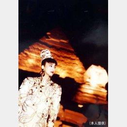 1976年の「ジャパン・ウィーク」で(提供写真)