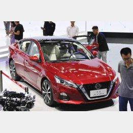 広州国際モーターショーで日産が公開した中国仕様の「アルティマ」/(C)共同通信社