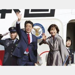 また外遊(29日)/(C)共同通信社