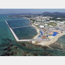 普天間飛行場移設先の沖縄県名護市辺野古の沿岸部(C)共同通信社