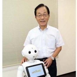 ユニボット 大槻正社長<4>万引き防止ロボ開発の依頼に衝撃