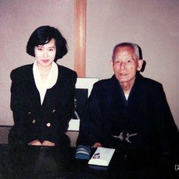 TBSの「3時にあいましょう」の取材で、笠智衆さんの自宅にて