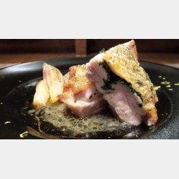 鶏モモ肉のロースト大葉とゆずの香り(C)日刊ゲンダイ