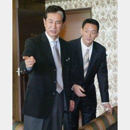 02年オフ、星野監督はFAで金本を獲得した(C)日刊ゲンダイ