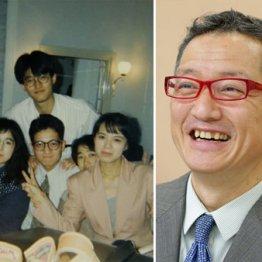 ブックライターの上阪徹さん(左は異業種の人たちとの飲み会で)