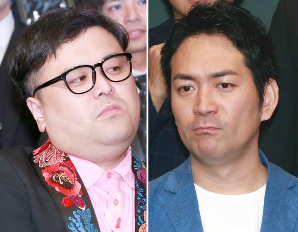 上沼恵美子(63)に対し、SNSのライブ配信で暴言を吐いたお笑いコンビ「とろサーモン」久保田かずのぶ(39)、同「スーパーマラドーナ」の武智正剛(40)