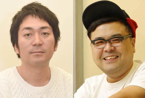 上沼恵美子(63)へのあけすけな批判をSNSのライブ配信で展開した「とろサーモン」久保田かずのぶ(39)、「スーパーマラドーナ」武智正剛 (40)の両名。