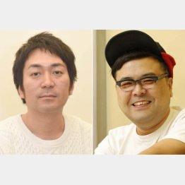 武智正剛(左)と久保田かずのぶ(C)日刊ゲンダイ