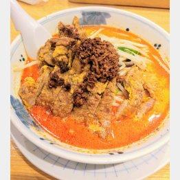 排骨担々麺(提供写真)