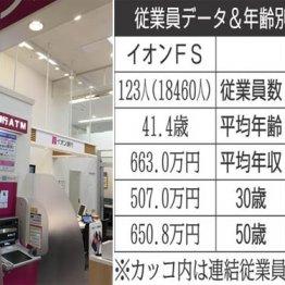 スマホ決済が加速「ゆうちょ銀行」vs「イオンFS」生涯給与