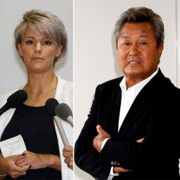 梅宮辰夫(右)とアンナ