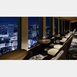 """東京の夜景が""""2人だけのもの""""に(京王プラザホテル)/(提供写真)"""