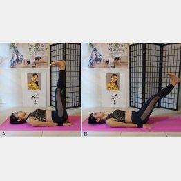 下腹部を鍛えるトレーニング(C)日刊ゲンダイ