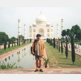 インドにカレー修行(本人提供)
