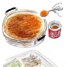 年老いた両親にも客にも人気の「カレー鍋」は糸コンが主役
