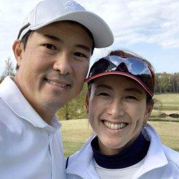 杉山愛さん<3>主人との出会いはゴルフレッスンがきっかけ