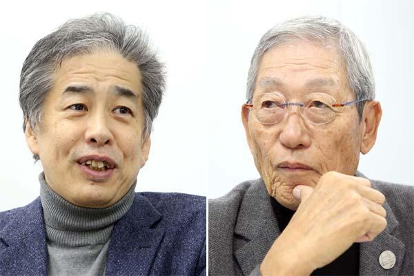 二宮清純氏(写真左)と権藤博氏(C)日刊ゲンダイ