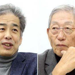 二宮清純氏(写真左)と権藤博氏