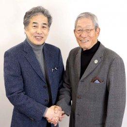二宮清純氏(左)と権藤博氏(C)日刊ゲンダイ