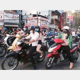 ベトナムにも進出(C)共同通信社