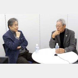 二宮清純氏と権藤博氏(C)日刊ゲンダイ