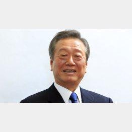 自由党代表の小沢一郎衆議院議員(C)日刊ゲンダイ